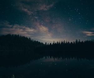 sky, night, and stars image