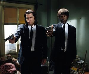 pulp fiction, John Travolta, and film image