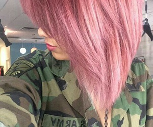 army, color, and girl image