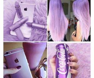 2016, hair, and lilac image