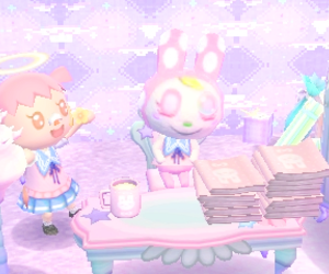 animal crossing, fairy, and game image