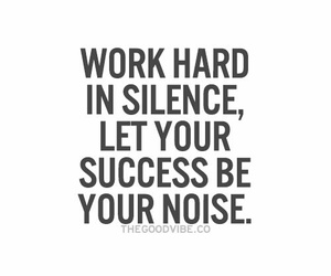 quotes, silence, and success image