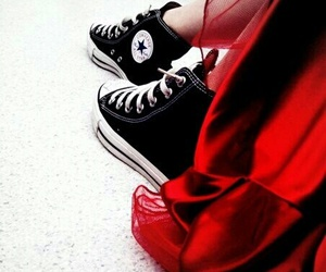 converse, all star, and dress image