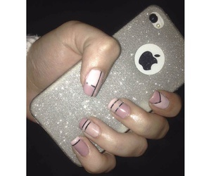 iphone, pink, and love image
