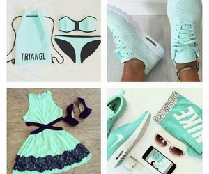 dress and mint green image