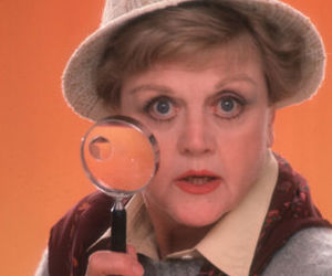 murder, murder she wrote, and jessica fletcher image