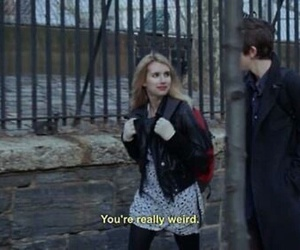 weird, emma roberts, and quotes image