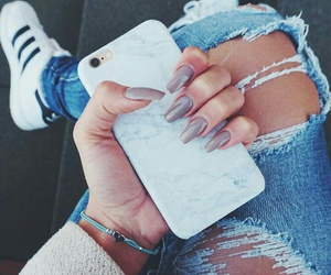 nails, adidas, and iphone image