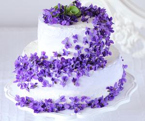 violet cake image