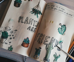 are, creative, and plants image