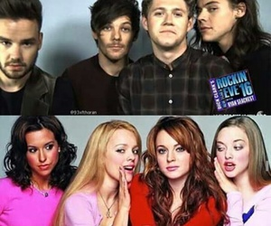 mean girls and one direction image