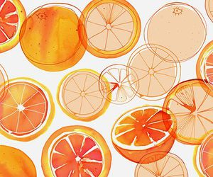 art, oranges, and margaret berg image