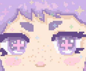pixel and purple image