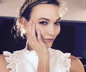 model, hair, and Karlie Kloss image
