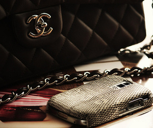 chanel, bag, and blackberry image
