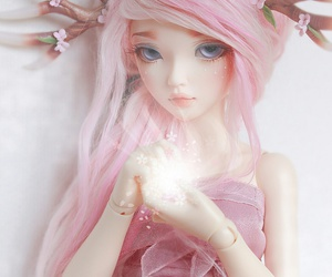 antlers, bjd, and doll image