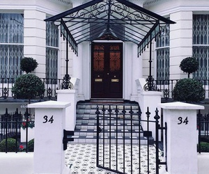 home, house, and london image