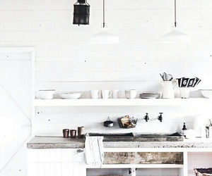 house, kitchen, and white image