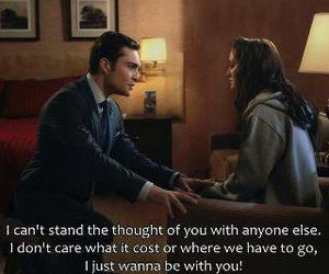 gossip girl, chuck and blair, and chair image