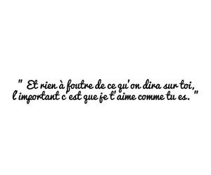 french, citation, and texte image