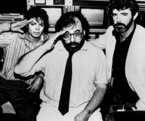 black and white, michael jackson, and Francis Ford Coppola image