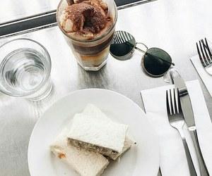 food, sunglasses, and breakfast image