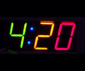 420, happy, and weed image