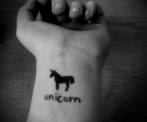 unicorn and tattoo image