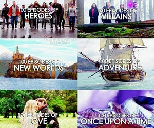 once upon a time, heroes, and series image