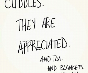 blankets, cuddles, and tea image