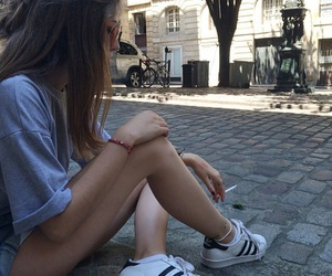adidas, chill, and outfit image