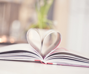 book, cozy, and flowers image