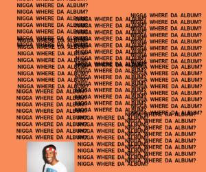 album, nigga, and funny image