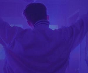 purple, aesthetic, and troye sivan image