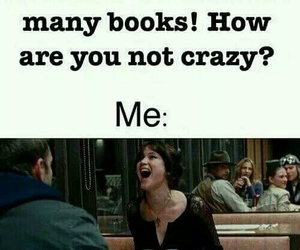 book, funny, and crazy image