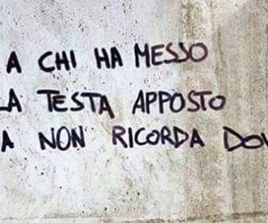 frase, graffiti, and canzone image