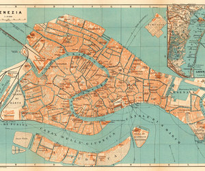 etsy, venice, and old map image