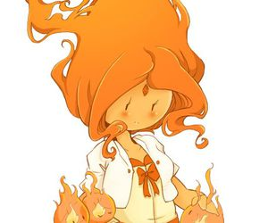 fire, adventure time, and flame princess image
