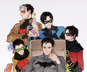 batman, DC, and robin image