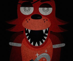 fnaf, five night at freddy's, and foxy image