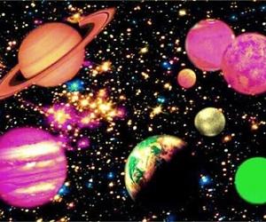 planets, saturn, and Venus image