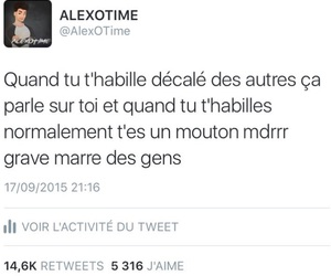 francais, tweet, and vrai image
