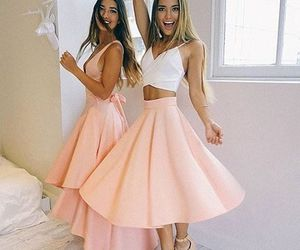 skirt, dress, and pink image