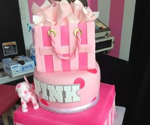 cake, pink, and Victoria's Secret image