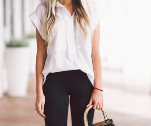 fashion, blonde, and janni deler image