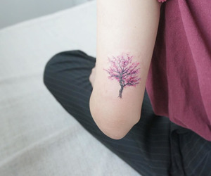 tattoo and tree image