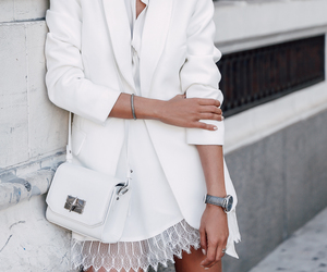 fashion, white, and casual image