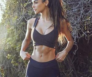 motivation fit girl image