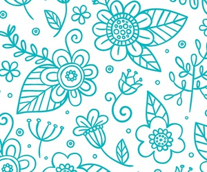 pattern, wallpapers, and flowers pattern image