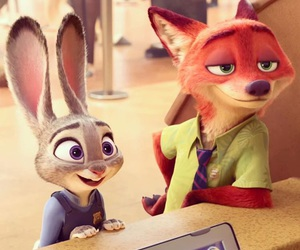 disney, zootopia, and nick wilde image